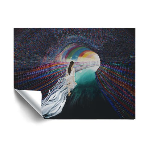 """""""The Escape"""" Removable Wall Art Mural"""