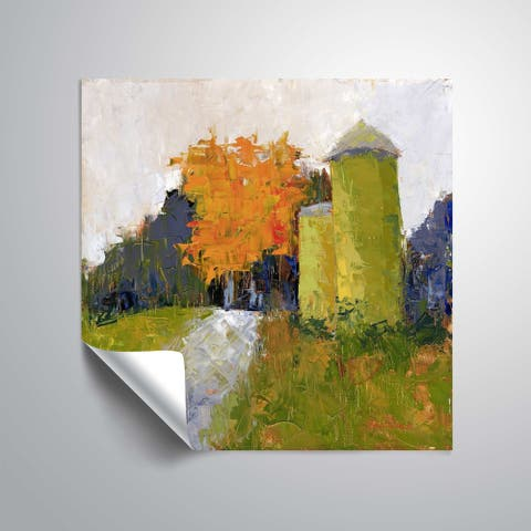 """"""" Silos"""" Removable Wall Art Mural"""