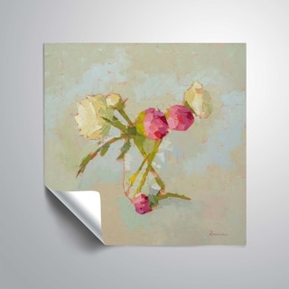 """Link to """" Peonies in Glass"""" Removable Wall Art Mural Similar Items in Vinyl Wall Art"""