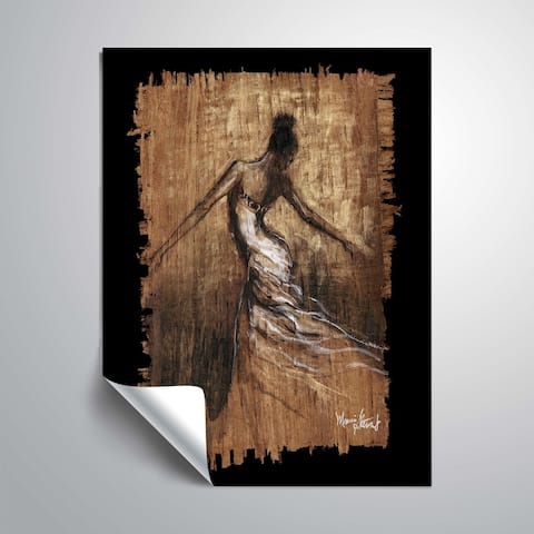 """Graceful Motion III"" Removable Wall Art Mural"
