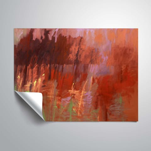 """Once Autumn"" Removable Wall Art Mural"