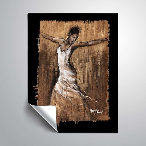 """Graceful Motion I"" Removable Wall Art Mural"