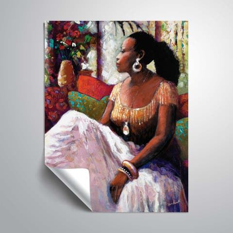 """Peaceful Moment"" Removable Wall Art Mural"