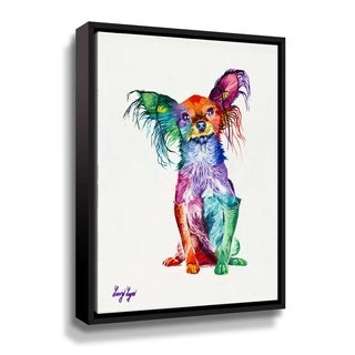 """""""Noodle"""" Gallery Wrapped Floater-framed Canvas"""