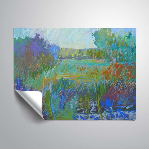 """""""Color Field no. 67"""" Removable Wall Art Mural"""
