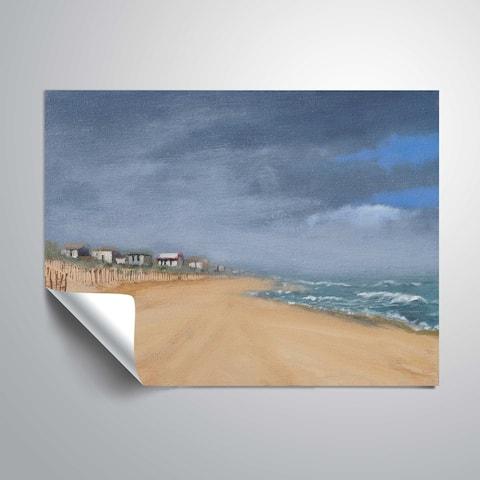 """Beach houses & surf"" Removable Wall Art Mural"