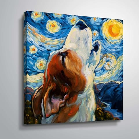 """""""Sing"""" Gallery Wrapped Canvas"""