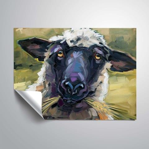 """Bless ewe"" Removable Wall Art Mural"