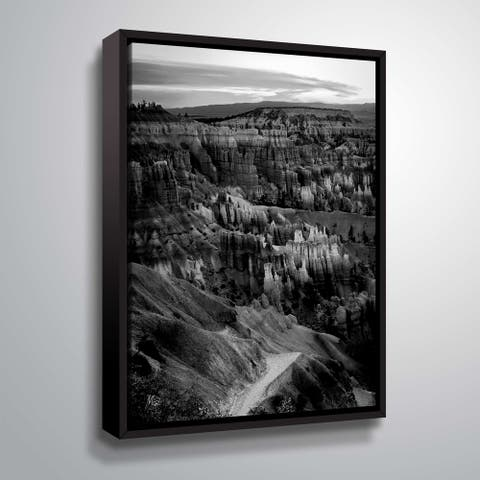 """""""6.5.16 AZ"""" Gallery Wrapped Floater-framed Canvas"""