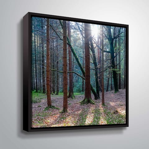 """""""Lean on me"""" Gallery Wrapped Floater-framed Canvas"""
