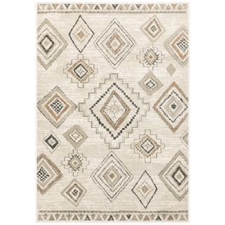 The Curated Nomad Prescott Rustic Tribal Area Rug