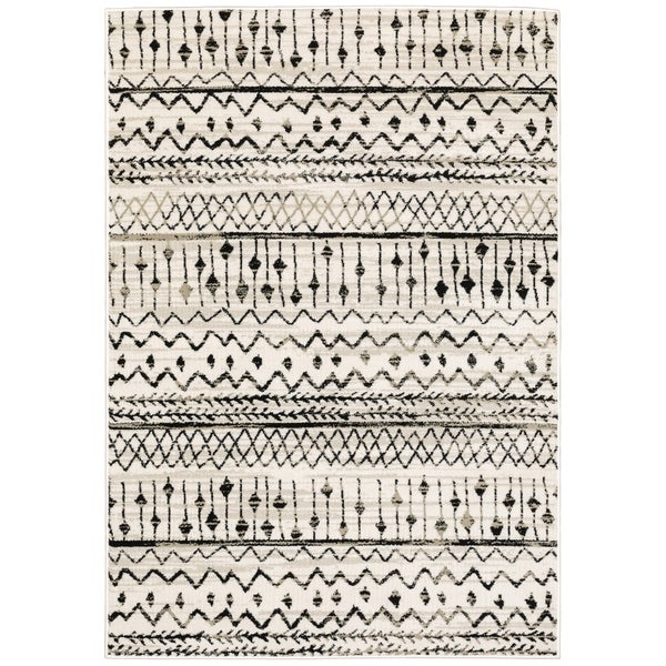 The Curated Nomad Prescott Tribal Etchings Area Rug