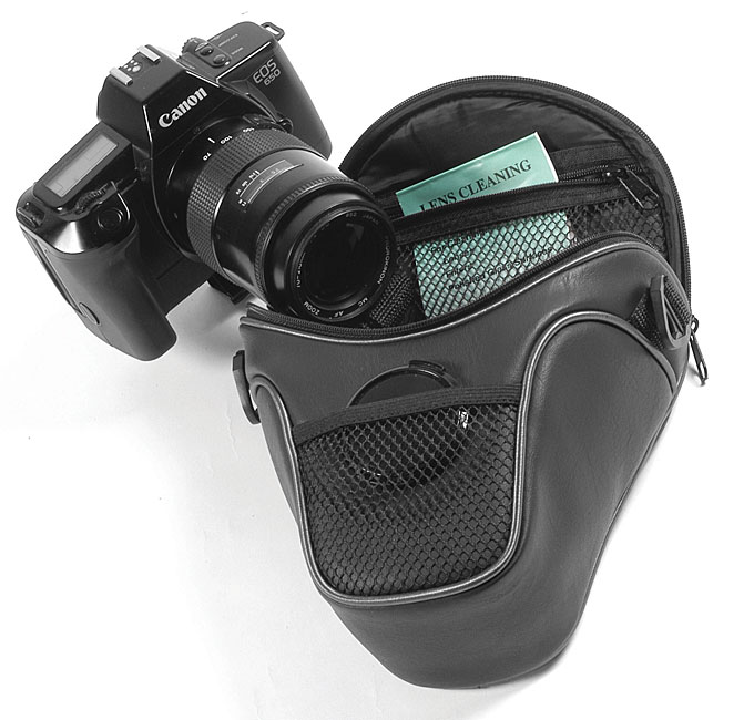 Rokinon SLR/ DSLR Camera Short Zoom Holster Case