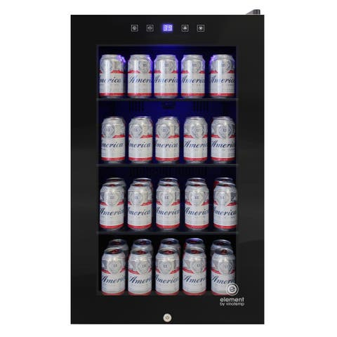 105-Can Touch Screen Beverage Cooler - N/A