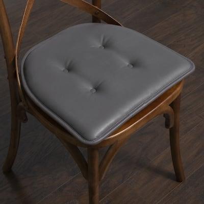 U-Shaped Faux Leather Memory Foam Chair Pads