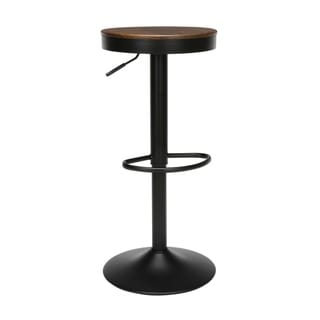 """Link to OFM 161 Collection Industrial Modern Backless 23"""" to 32"""" Height Adjustable Bar Stool, 2 pack Similar Items in Dining Room & Bar Furniture"""