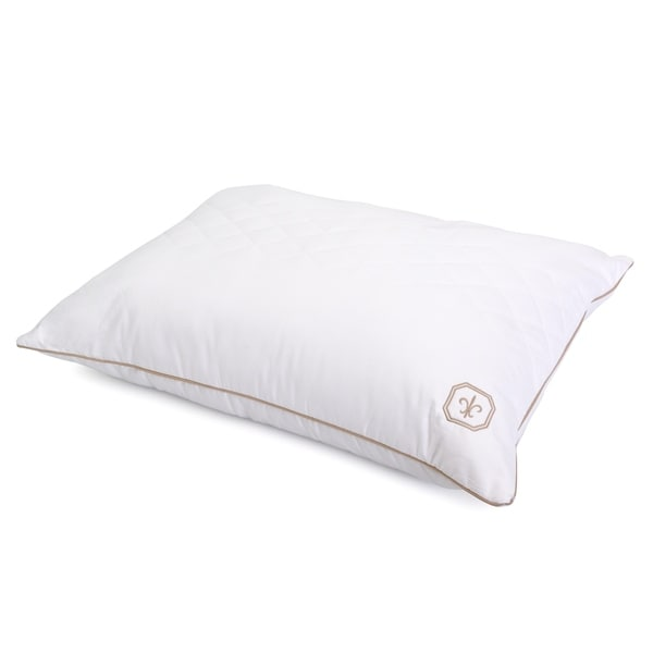 Stearns and Foster LiquiLoft Continuous Comfort Quilted Pillow. Opens flyout.
