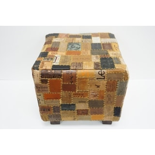 Link to Daniella Leather Cube Similar Items in Ottomans & Storage Ottomans