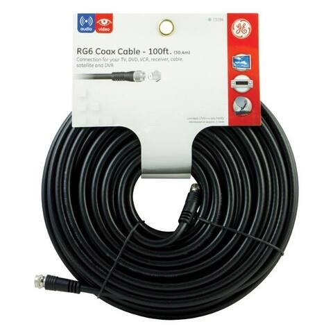 GE 100 ft. Coaxial Cable