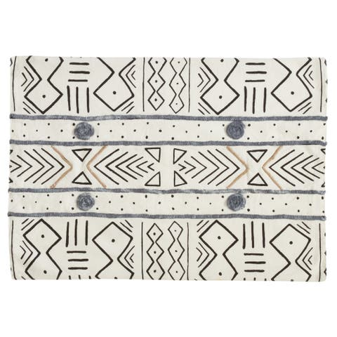 Mud Cloth Cotton Placemats (Set of 4)