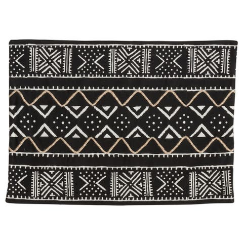 Placemats with Mud Cloth Design (Set of 4)