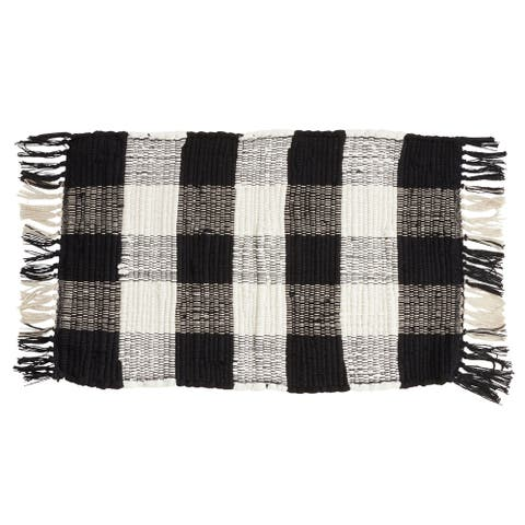 Chindi Buffalo Plaid Placemats (Set of 4)
