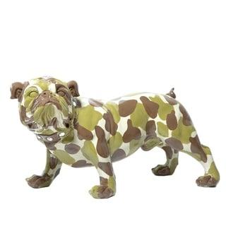 "Interior Illusions Plus Camouflage Bulldog - 30"" long"
