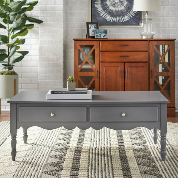 Simple Living Farmhouse Coffee Table. Opens flyout.