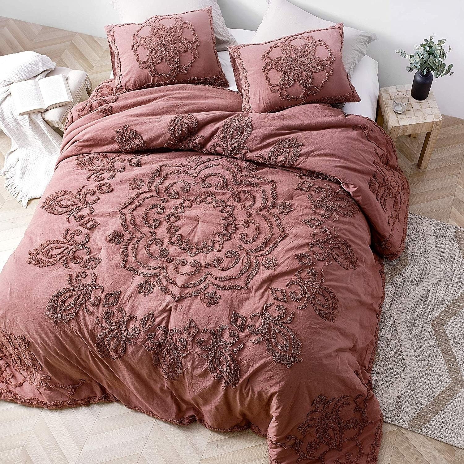 Shop Black Friday Deals On Burgundy Sunset Oversized Comforter Shams Not Included Overstock 29663417 Twin Xl