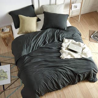 Chommie - Weighted Natural Loft Comforter - Faded Black