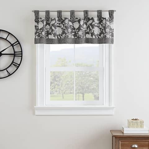 Waverly® Stencil Vine Window Valance