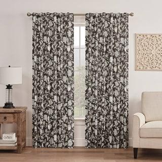 Waverly® Stencil Vine Window Curtain