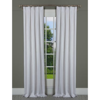 """Link to Porch & Den Easystreet Gold/Metallic/Natural Cotton Box-pleated Single Curtain Panel - 24"""" x 95""""- (As Is Item) Similar Items in As Is"""