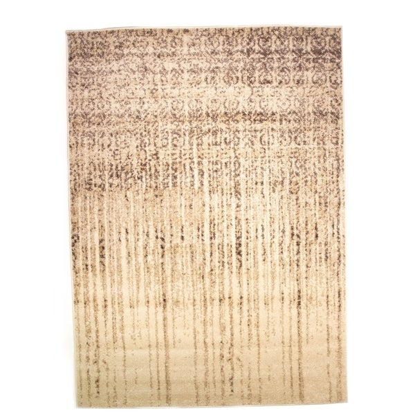 Bohemi Abstract Modern Stain Resistant Area Rug