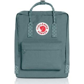 Fjallraven Ochre-Chess Pattern Kanken Classic Backpack for Everyday