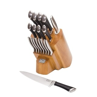 Chicago Cutlery 1119644 Fusion 18-piece Stainless Steel Knife Block Set