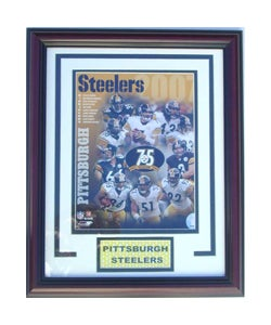 Pittsburgh Steelers '07 Deluxe Frame
