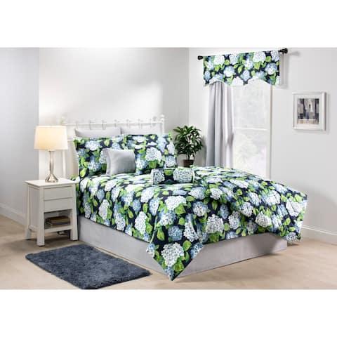 Marseille Flora blue quilt mini set