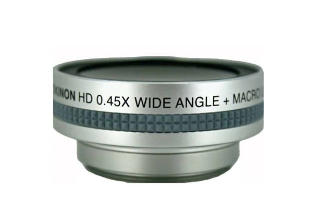Rokinon .45x Wide Angle 52mm Lens with Macro
