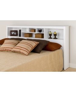 Winslow White King Bookcase Headboard Free Shipping Today