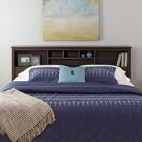 Laurel Creek Ada Espresso King Bookcase Headboard