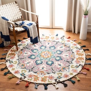 Safavieh Handmade Novelty Llio Bohemian Floral Wool Rug