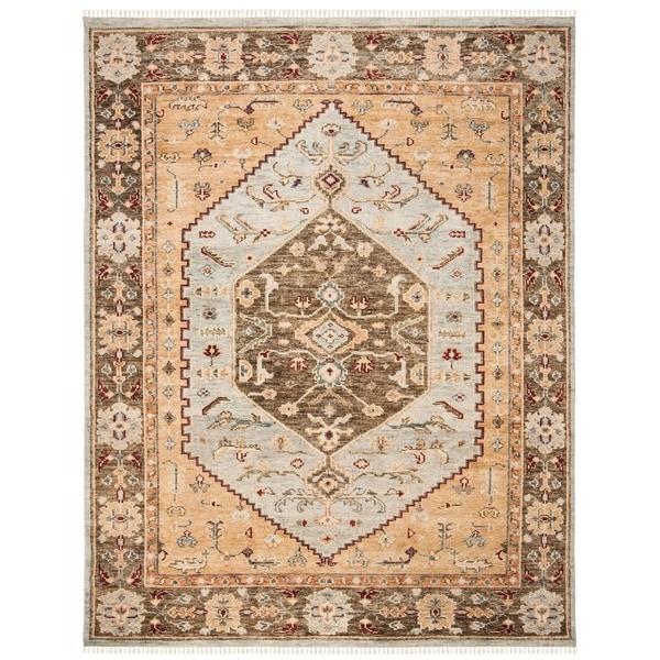 Safavieh Hand-Knotted Samarkand Catinca Traditional Wool Rug