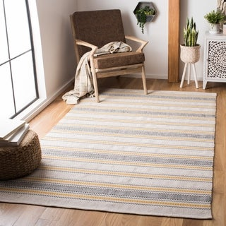 Safavieh Handmade Montauk Jocelin Casual Stripe Cotton Rug