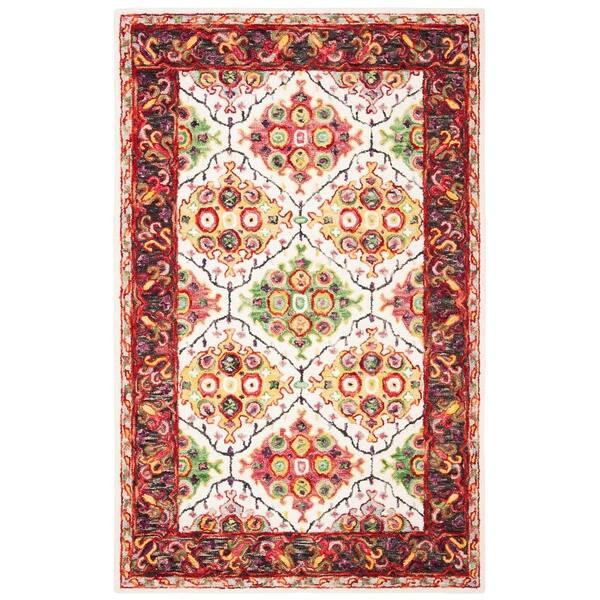 Trace Baukea Contemporary Wool Rug