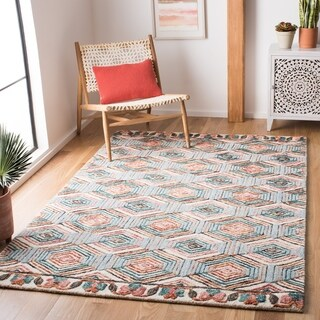Safavieh Handmade Trace Kristl Contemporary Wool Rug