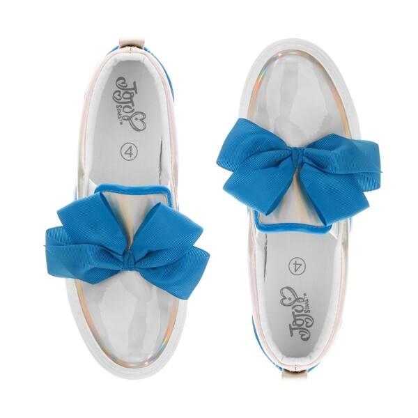 slide 1 of 2, JoJo Siwa Sneakers - Pearl Blue Size 3