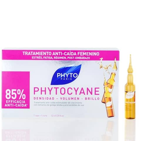 Phyto Phytocyane Revitalizing Serum (12 Flasks) 0.25 Oz