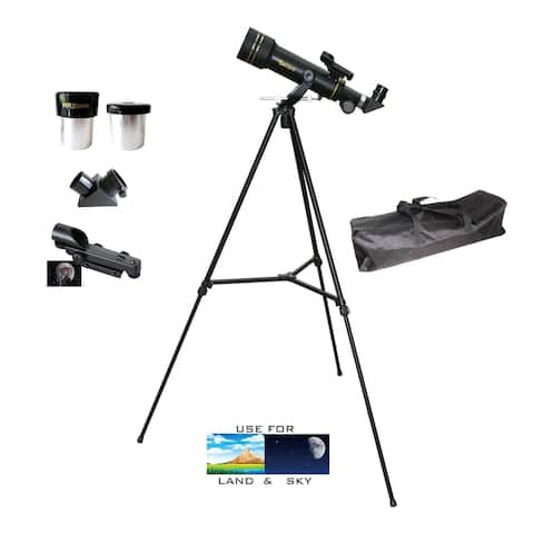 300mm X 60mm Day/Night Portable Back Refractor Telescope