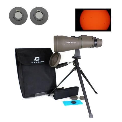 10-30x60mm Zoom Binocular with Solar Filter Caps